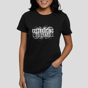 Celebrating 25 Years Women's Dark T-Shirt