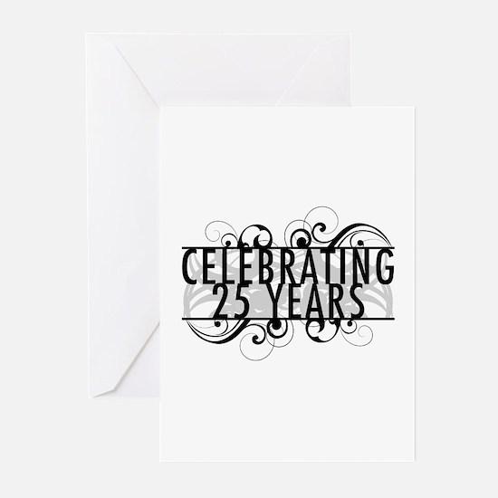 Celebrating 25 Years Greeting Cards (Pk of 20)