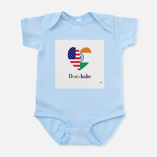 Indian-American Desi-babe Infant Bodysuit