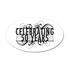 Celebrating 50 Years Wall Decal