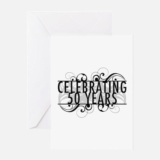 Celebrating 50 Years Greeting Card