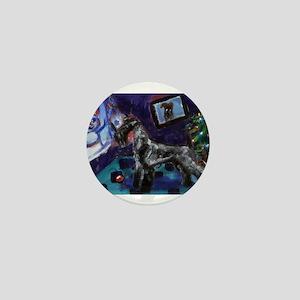 KERRY BLUE xmas Mini Button