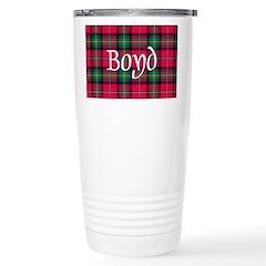 Tartan - Boyd Stainless Steel Travel Mug