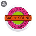 "Pulsating Sac Of Sound 80s 3.5"" Button (10 Pa"