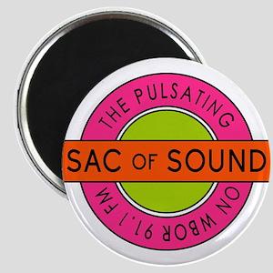 Pulsating Sac Of Sound 80s Subway Logo Magnets
