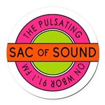 Pulsating Sac of Sound 80s Subway Logo Round Car M