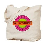 Pulsating Sac of Sound 80s Subway Logo Tote Bag