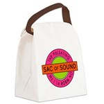 Pulsating Sac of Sound 80s Subway Logo Canvas Lunc