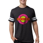 Pulsating Sac of Sound 80s Subway Logo Mens Footba