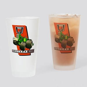 Oliver 1950 Tractor Drinking Glass