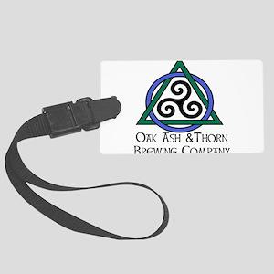 OakAshThorn-BrewingCo--Color. Luggage Tag