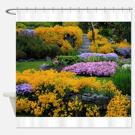 Gardens Color Explosion Shower Curtain