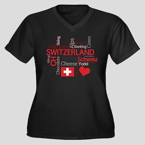 Switzerland - Favorite Swiss Things Plus Size T-Sh