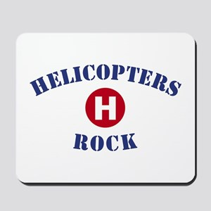 Helicopters Rock Mousepad