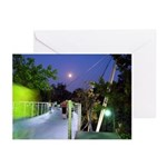Greenville Liberty Bridge Greeting Cards (Package
