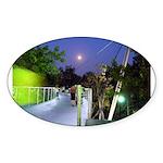 Greenville Liberty Bridge Oval Sticker