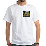 Greenville Liberty Bridge White T-Shirt
