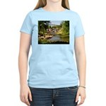 Greenville Liberty Bridge Women's Pink T-Shirt