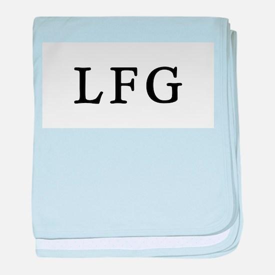 LFG baby blanket