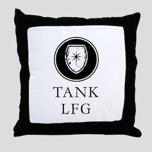Tank LFG Throw Pillow