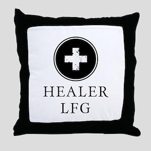Healer LFG Throw Pillow
