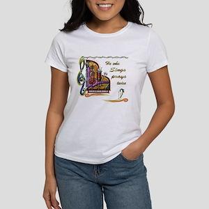 He Who Sings Prays Twice Women's T-Shirt