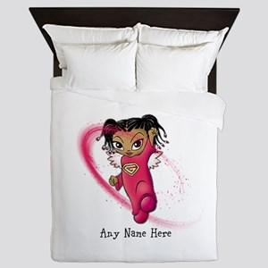 African American Angel Queen Duvet