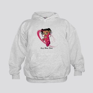 African American Angel Hoodie
