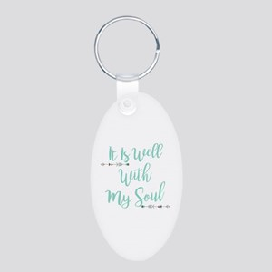 It Is Well With My Soul Keychains