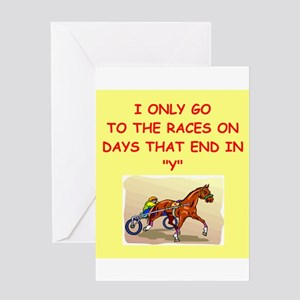 HARNESSracing Greeting Card