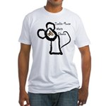 Zombie Mouse Wants Cheese Fitted T-Shirt