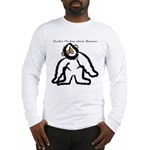 Zombie Monkey Wants Bananas Long Sleeve T-Shirt