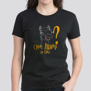 Hump Day Camel Spoof Women's Dark T-Shirt