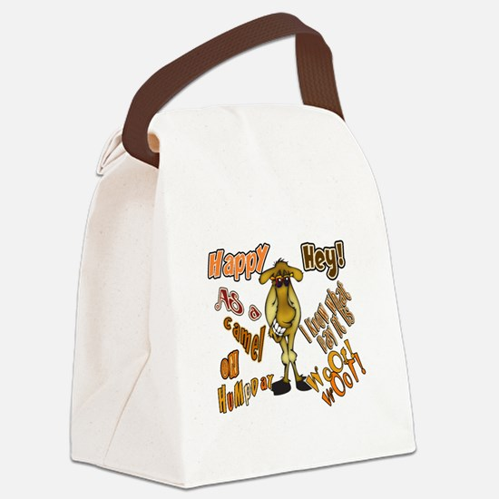 Happy HumP Day Canvas Lunch Bag