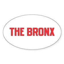The Bronx Oval Sticker
