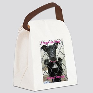Forgotten Paws Animal rescue Canvas Lunch Bag