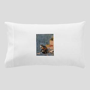 Self-portrait_of_the_shunga_album Pillow Case