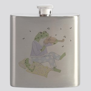 Music Frogs Flask