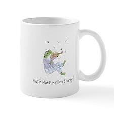 Personalized Music Frog Mug