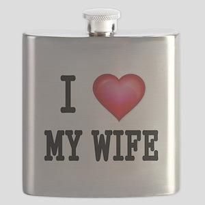 I LOVE MY WIFE 4 Flask