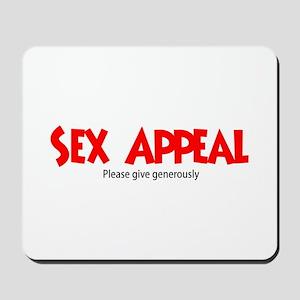 Sex Appeal - Please give gene Mousepad