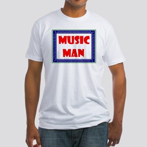 MUSIC MAN Fitted T-Shirt