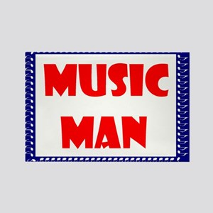 MUSIC MAN Rectangle Magnet