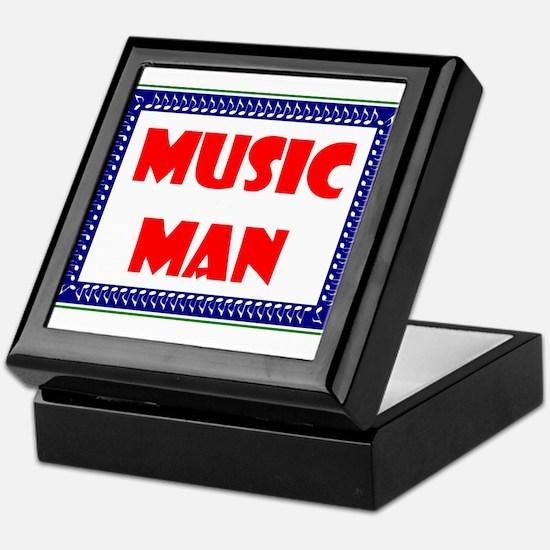MUSIC MAN Keepsake Box