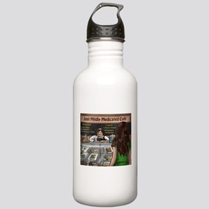 Just Mildly Medicated Cafe Water Bottle