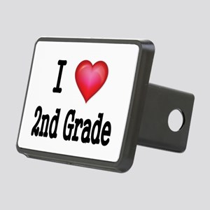 I LOVE 2ND GRADE Hitch Cover
