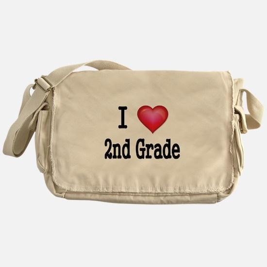 I LOVE 2ND GRADE Messenger Bag