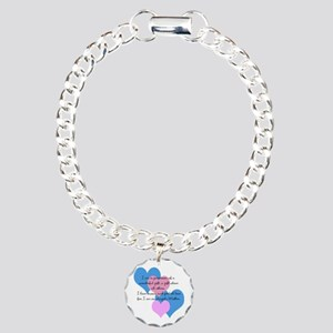 Angel's Mother Charm Bracelet, One Charm