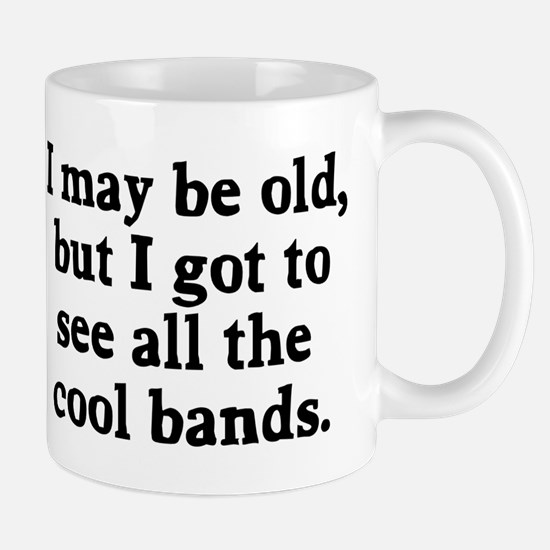 May be old cool bands Mug