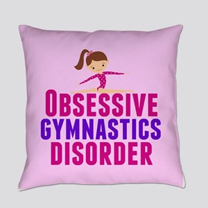 Gymnastics Obsessed Everyday Pillow